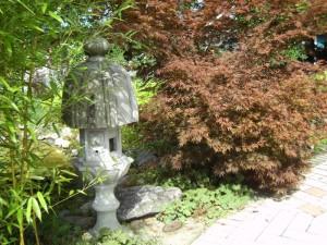 сад в японском стиле, фото