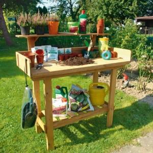 столик для пересадки растений, фото