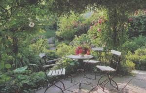 Зонирование сада, фото