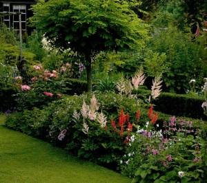 Границы в дизайне сада, фото