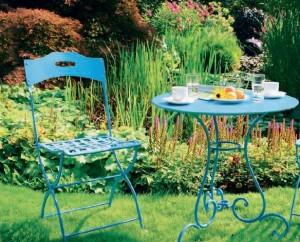 Зона отдыха у саду, фото