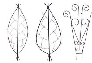 ажурные решетки для лиан, фото