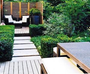 Мощение в саду, фото