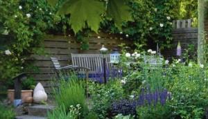 Уголок отдыха в саду, фото