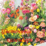 Цветочный календарь посевов – заполняем вместе!