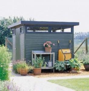 Садовый домик, фото