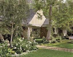 Типичный английский сад, фото