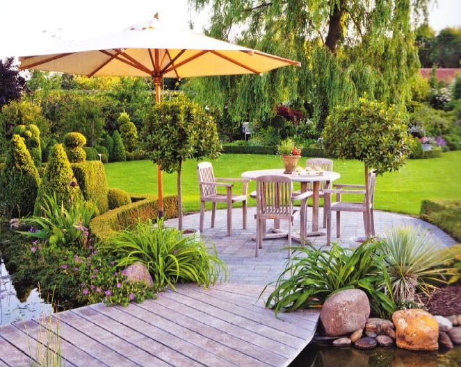 Уголок для отдыха в саду своими руками фото 45