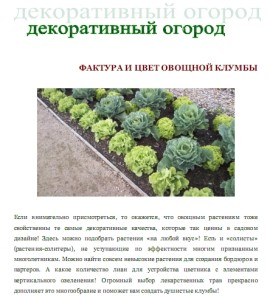 """Книга """"Оригинальный огород"""", фото"""