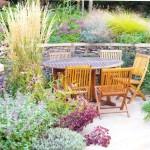 Уголки отдыха в саду: улучшаем рельеф и климат